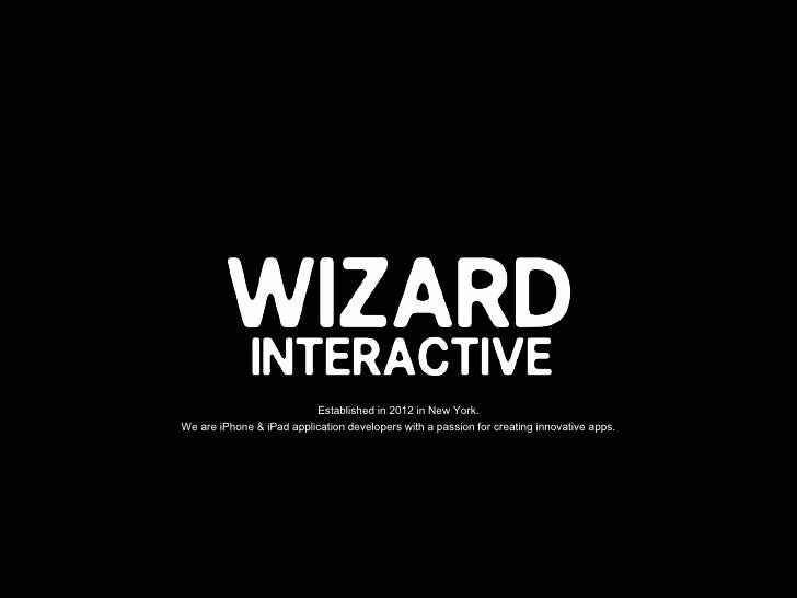 APP DESIGN by WIZARD INTERACTIVE