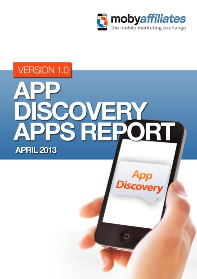 Table of Contents1    Introduction                                            42    What are app discovery apps?          ...