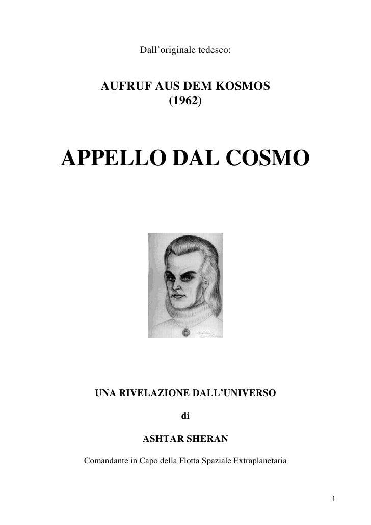 Appello Dal Cosmo