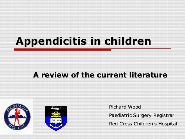 Appendicitis+in+children