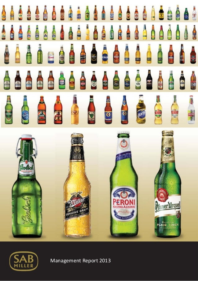 SABMiller Management Report for MBA Boardroom Activity