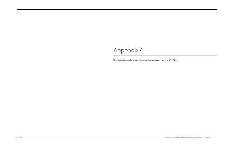Final EIS Appendix C