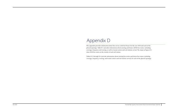 Final EIS Appendix D