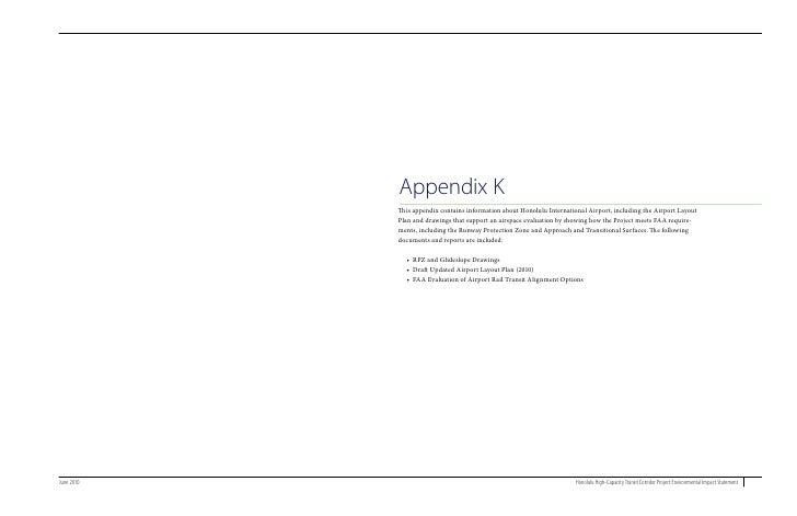 Final EIS Appendix K