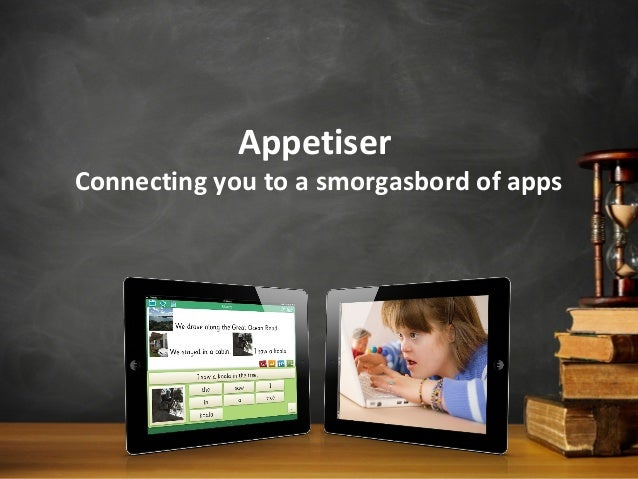 AppetiserConnecting you to a smorgasbord of apps