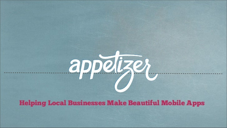 Helping Local Businesses Make Beautiful Mobile Apps