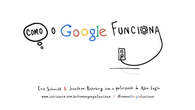 Quando nós, Jonathan e Eric, entramos no Google, achávamos que sabíamos tudo o que havia para saber sobre como administrar...