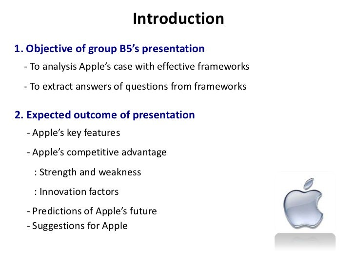 strategic management case study apple inc