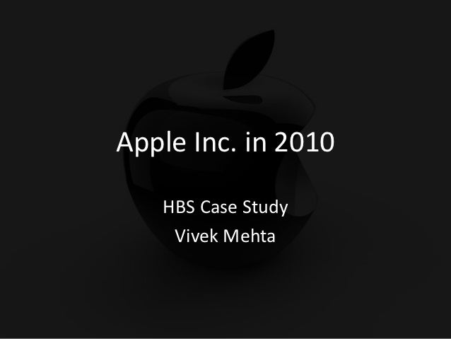 Apple corporation case study