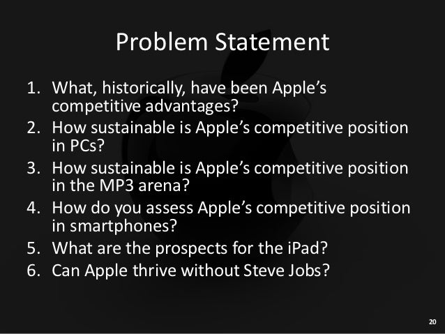 apple hbr case study questions Apple: a case study analysis shane r mittan, project manager western michigan university school of communication telecommunications management 4480.