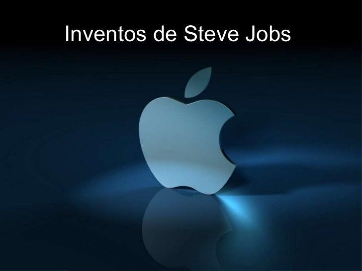 Inventos de Steve Jobs