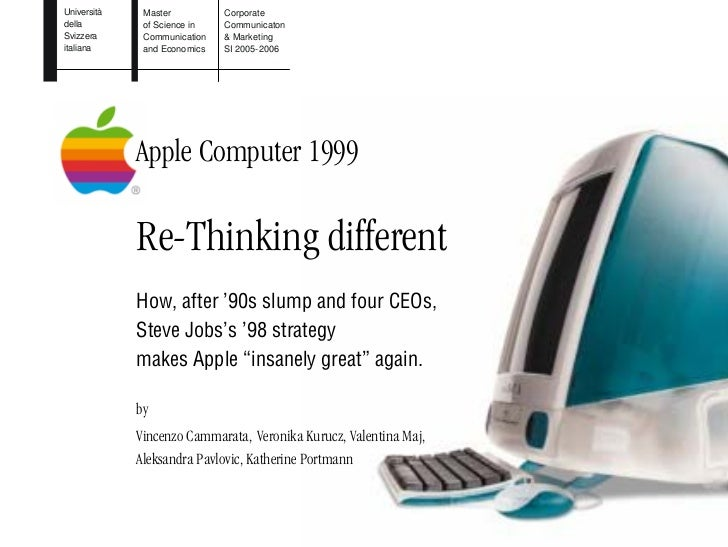 Re-Think Different