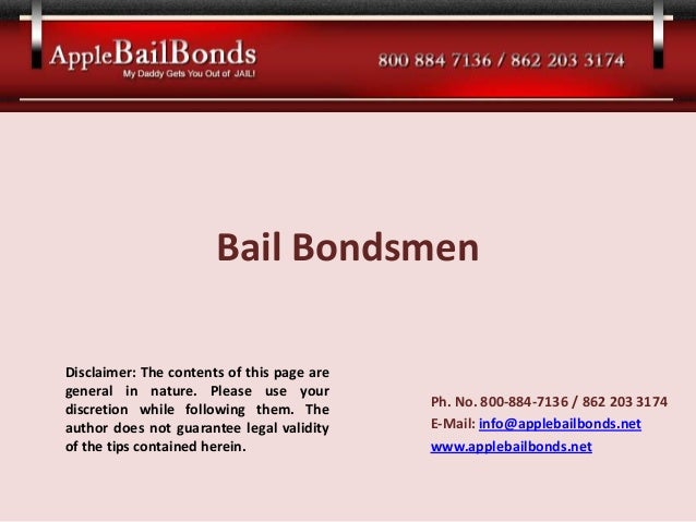 Apple bail bonds  bail bondsmen