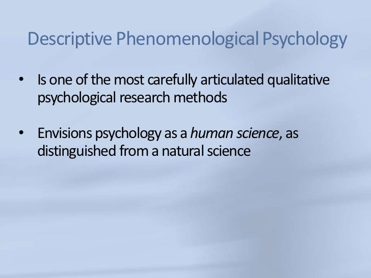 phenomenology in research The research in phenomenology is an international peer-reviewed journal for current research in phenomenology and contemporary continental philosophy as practiced in.