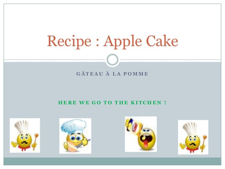 Apple cake (n°2)