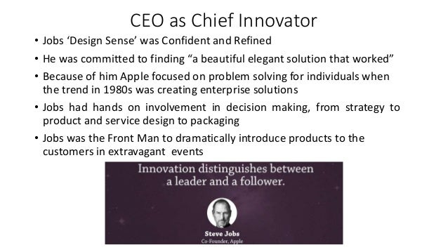 design thinking and innovation at apple case solution