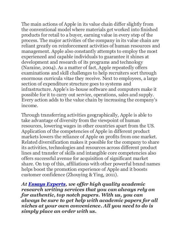 apple inc history essay