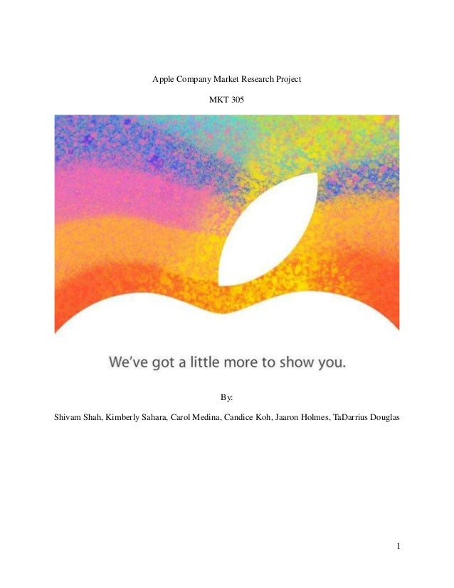 Marketing and Apple Essay Sample
