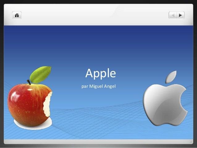 Apple par Miguel Angel