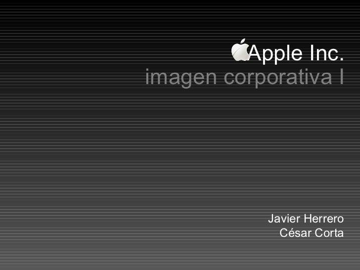 Javier Herrero César Corta Apple Inc. imagen corporativa I