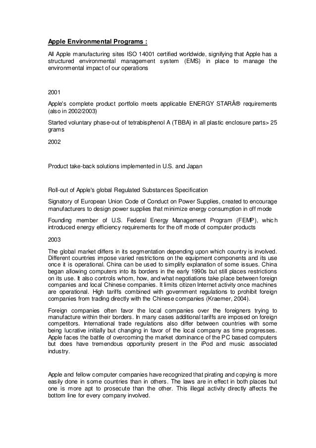an analysis of apple computers implementation strategy New york university leonard n apple computer inc  related interests documents similar to apple inc case study analysis  a strategic analysis of apple.