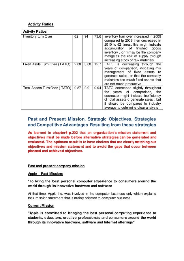 apple inc case analysis 1 Apple inc 2010 case study case summary: steve jobs and steve wazniak started apple over 30 years ago over that time span, steve jobs was fired from apple and rehired it was essentially jobs that save apple with superb vision and creative innovations.