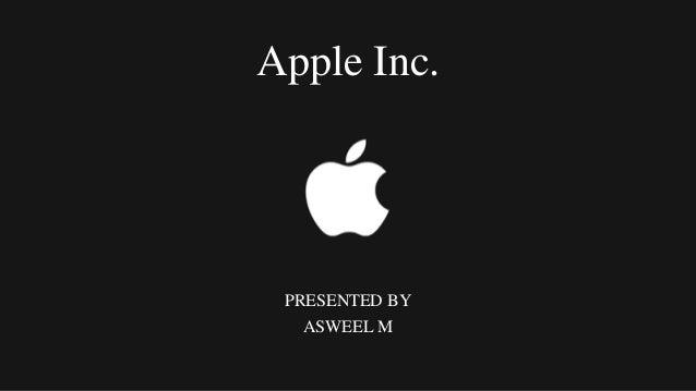Strategic management case study apple inc