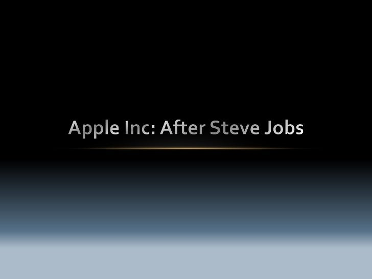 Steve Jobs - A tyrant, demandingperfection in every job, alwaysintending to deliver the best experienceto the device users...