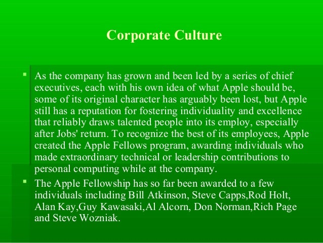 essay on the history of apple inc