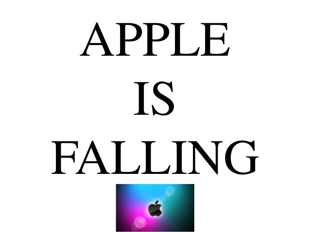 Apple is Falling