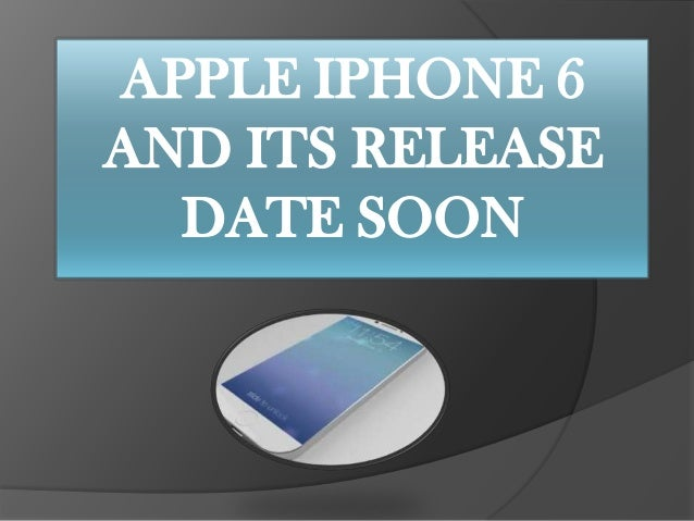 Rumor:Apple is working on the i phone 6 and its Release Date Soon