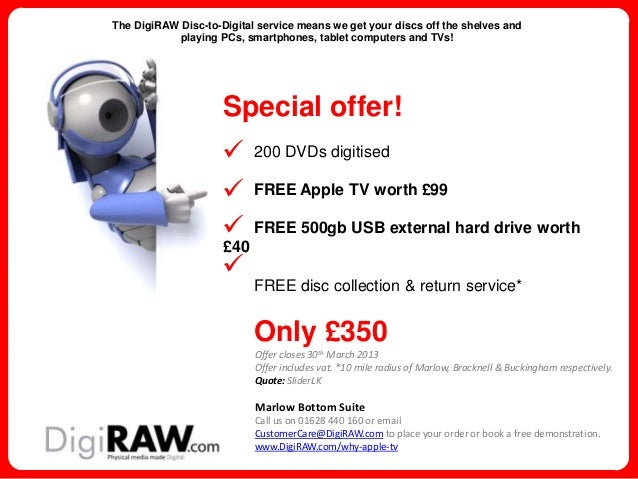 Apple TV great giveaway special offer whilst stocks last