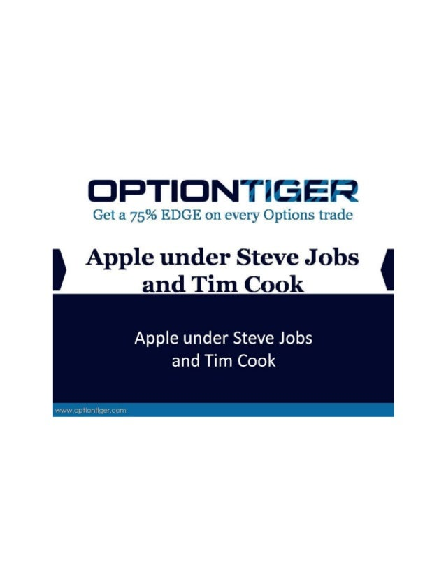 Apple under Steve Jobs and Tim Cook The technology world and Apple geeks worldwide (myself included) got their first taste...