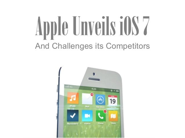 Apple Unveils iOS 7 and Challenges its Competitors