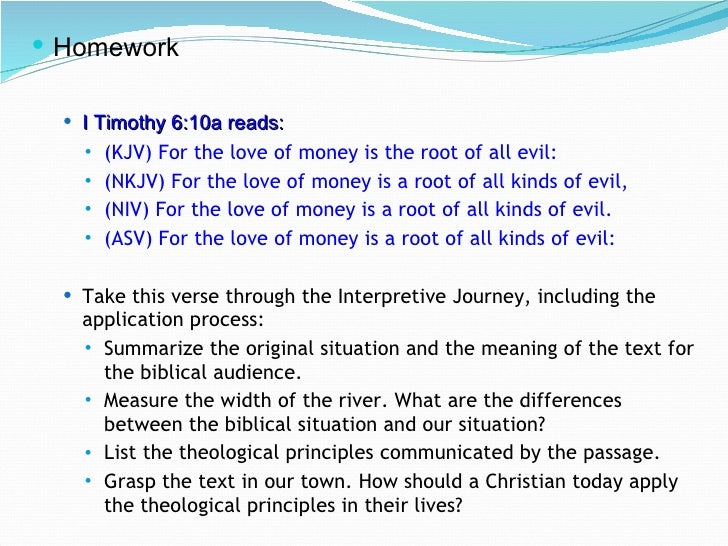 money is the root of all evil short essay Money is the root of all evil 'money is the root of all evil' do you agree money seems to be the driving force in many people's lives however, i do not agree that.
