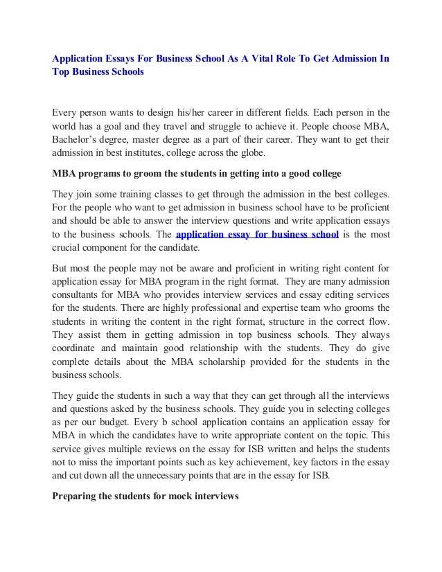 Business school essay service pepsiquincy.com