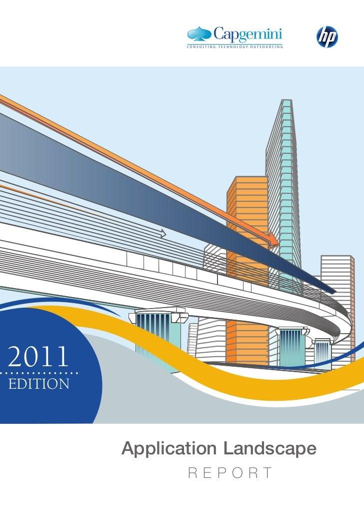 Application Landscape Report 2011 Edition