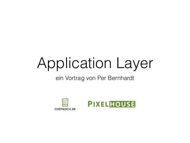 Application Layer in PHP