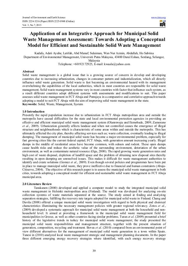 Most Downloaded Waste Management Articles