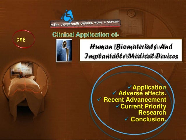 Application of  bio implant & biomedical devices-recent advancement and bio-medical science