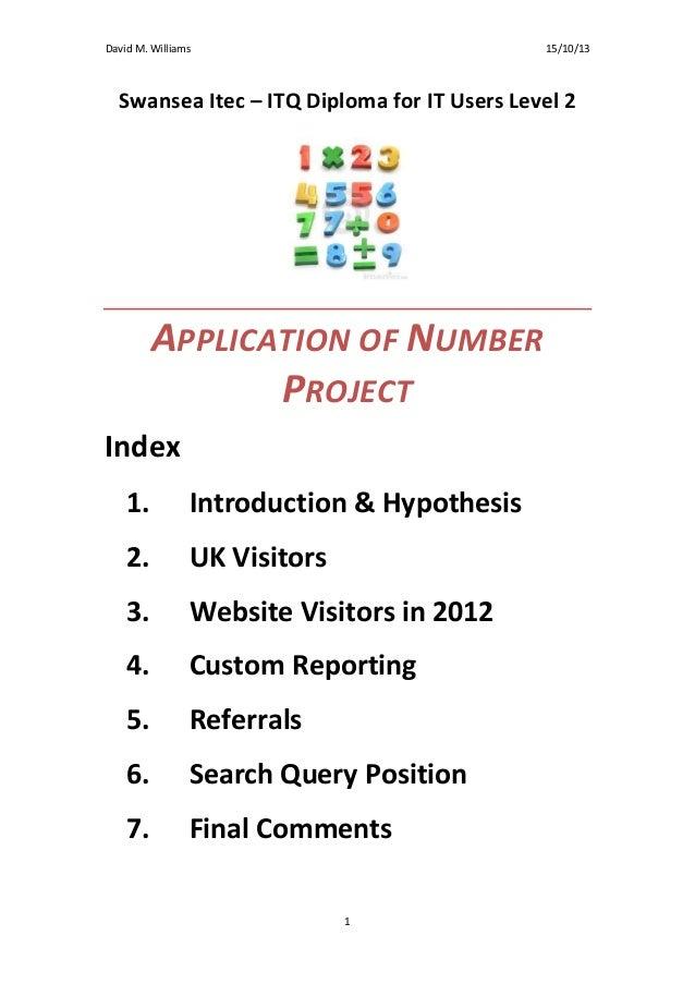 Analysing web statistics