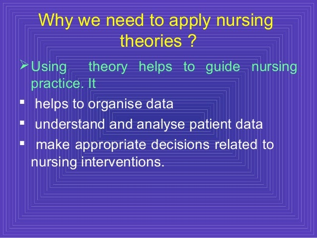 applying orem Applying orem's self-care deficit theory of nursing to continence care: part 2 (continuing education.