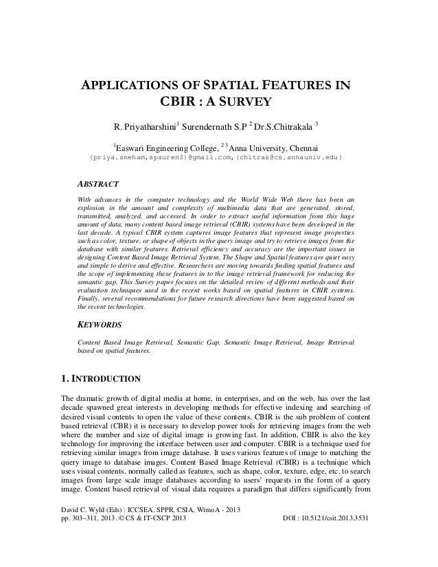 David C. Wyld (Eds) : ICCSEA, SPPR, CSIA, WimoA - 2013 pp. 303–311, 2013. © CS & IT-CSCP 2013 DOI : 10.5121/csit.2013.3531...