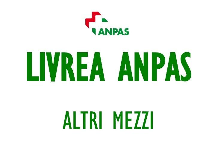 Applicazione logo per i mezzi diversi da ambulanza