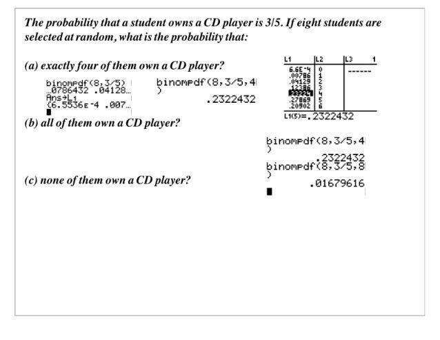 Applied Math 40S Slides April 2, 2007