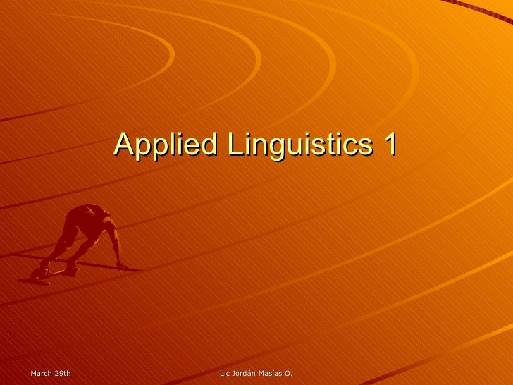 applied linguistics 5 essay Applied linguistics interview five friends or relatives who speak more than one language discuss with them kinds of learning strategies ( not communication strategies) and how they effect their language learning.