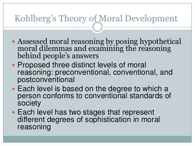 moral reasoning and development essay Review: morality: reasoning on different approaches, ed  this book, through  its essays, captures this interdisciplinary nature of research into  claims that one  cannot develop a coherent and consistent theory which explains such changes.
