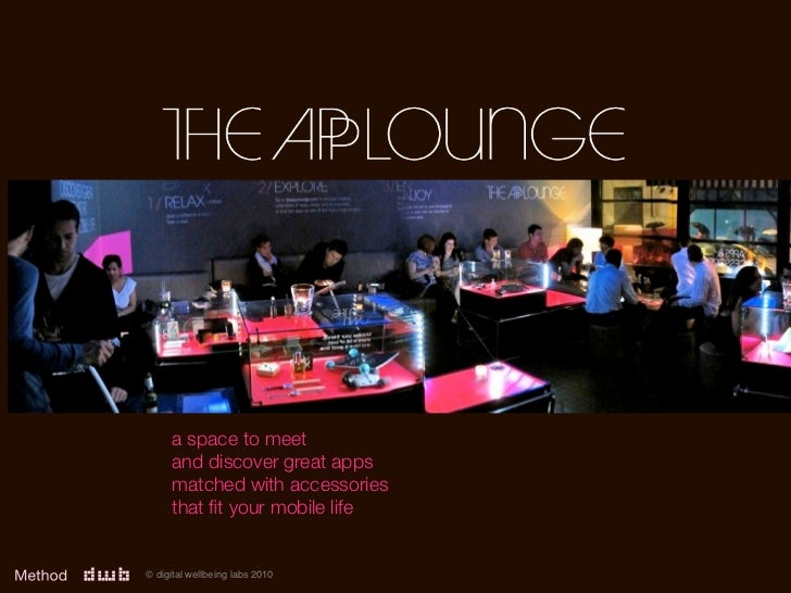 The AppLounge Overview