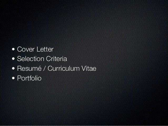 Applying for Graphic Design jobs & Online Identity