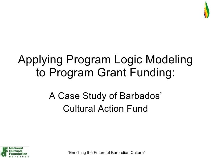 Applying Program Logic Modeling To Project Grant Funding   Caf